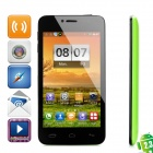 "T6198 Android 2.3 GSM Smartphone w/ 4.3"" Capacitive Screen, Dual-Band, Wi-Fi and Dual-SIM - Green"