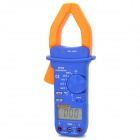 "FTIKE GT-202 Pliers Style 2"" LCD Temperature Testable Multimeter - Blue + Yellow (1 x 6F22)"