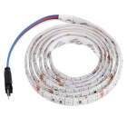 Vodotěsný 14W 480lm 60-SMD 5050 LED RGB Light Car Flexibilní lampa Strip - White (100cm / DC12V)