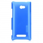 NILLKIN Protective PC Hard Back Case w/ Screen Protector + Cleaning Cloth for HTC 8X - Blue
