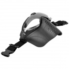 Tanluren SW2013 Protective Anti-Fog Face Shield Mask w/ Turbifan for Outdoor War Game - Black