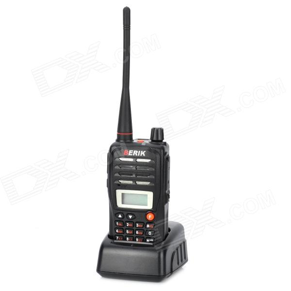 BERIK MP-668 1.0 LCD VHF / UHF 5W 199-Channel 136~174MHz / 400~470MHz Walkie Talkie w/ FM Radio xtool 16pin iobd2 car diagnostic tool for android blue