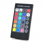 Fiber Optical Fabric Color Changing LED Mini Skirt w/ Remote Control - Red (M-Size)