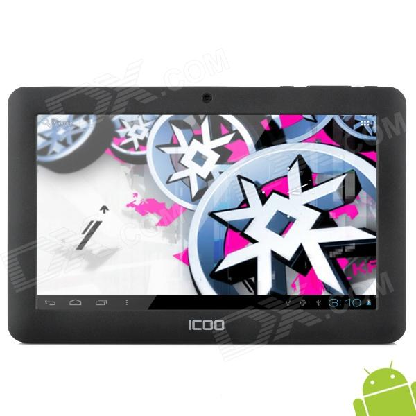 ICOO D50 7'' Capacitive Screen Android 4.0 Tablet PC w/ Wi-Fi / 3G / TF / 3D Game / Camera - Black