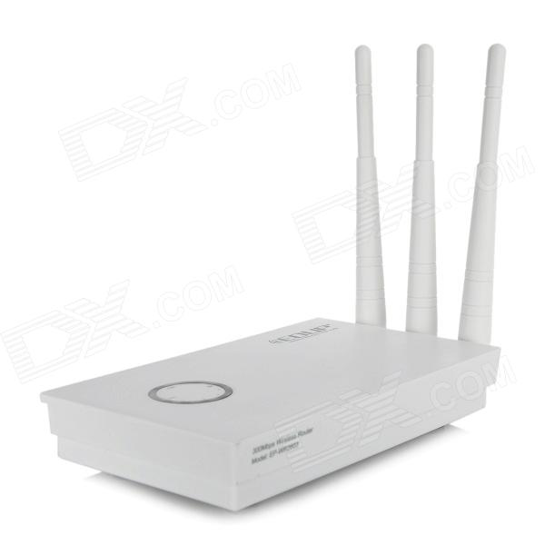 EDUP EP-WR 2603 300Mbps IEEE802.11b/g/n Wi-Fi Wireless Network Router Adapter - White