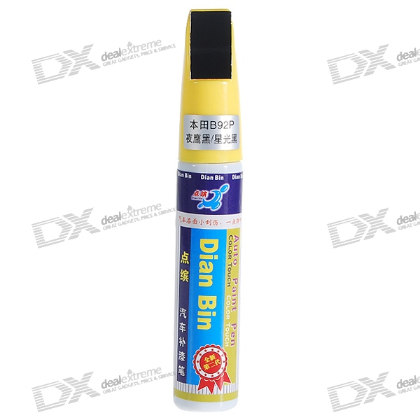 Honda #B92P Black Auto Body Paint Scratch Repair Pen (12ml) honda nh623m silver auto body paint scratch repair pen 12ml