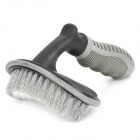 Car Tire Wheel Cleaning Washing Brush Tool - Grey + Black