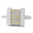 BY-R7S-5WD R7S 5W 450~460lm 3300K 48-SMD 3014 LED Warm White Bulb - Grey + White