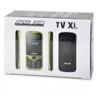 "OLA TV XL GSM Bar Phone w/ 2.4"" Screen, Quad-Band, Dual-SIM and TV - Black"