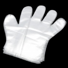 BX666 Disposable HDPE Gloves - Transparent (24 PCS)