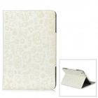 Protective PU Case for Ipad MINI - White
