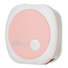 ONN V3 Mini Clip On Sports MP3 Player - Pink + White (4G)
