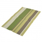 104 Western Food PVC Heat Insulation Pad Table Mat - Green