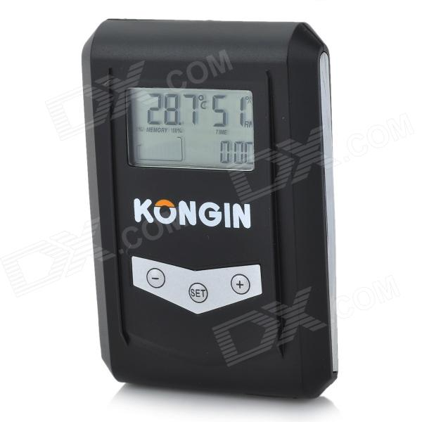 "KG100 1.3"" LCD USB Temperature and Humidity Data Logger - Black (1 x CR2032)"