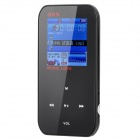 "ONN Q2 Ultra-Slim 1.5"" TFT Screen Sporting MP4 Player w/ FM - Black (4GB)"