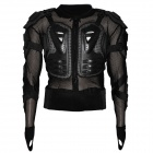 Fashion Removable Protective Motorcycle Riding Rennen Rüstung w / Round Hole - Black (Größe XXL)