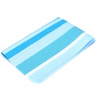 Stripe Pattern Insulation Western Dinner Pad - Blue