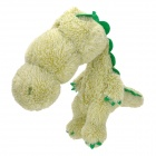 Cute Short Plush Long Head Dinosaur Doll Toy - Laurel Green