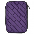 "Universal Protective Zippered Inner Bag Pouch for All 7"" Tablet PCs - Purple"