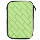 "Universal Protective Zippered Inner Bag Pouch for All 7"" Tablet PCs - Green"