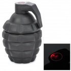 MK2 Grenade Shaped Stainless Steel Vacuum Cup - Black (60ml)