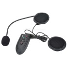 Motorcycle Helmet Bluetooth V2.0 Headset - Black