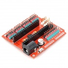 Multi-Function Funduino Nano Expansion Board for Electric DIY - Orange + Black