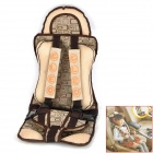 Children Car Safety Seat Harness Secure Belt - Beige + Brown