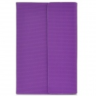 Bluetooth V3.0 Keyboard w/ Football Pattern Smart Cover Protective Case for iPad Mini - Purple