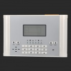 "YL-007M2C 1.7"" LCD Auto-Dial Security Alarm System - White"