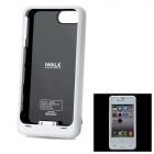 iWalk External Backup 2000mAh Battery Case w/ 5-Color Frame Cases for iPhone 4 / 4S - White