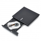 Asus SDRW-08D2S-U External Slim Optical DVD Burner Drive - Black
