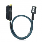 Mini SAS 36-pin to SAS 32-pin Main Board / Module Data Cable - Black + Blue (55cm)