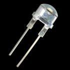 7018 F8mm 0.5W 6000 ~ 6500K 8000mcd LED ampoules blanches - blanc (20 PCS)