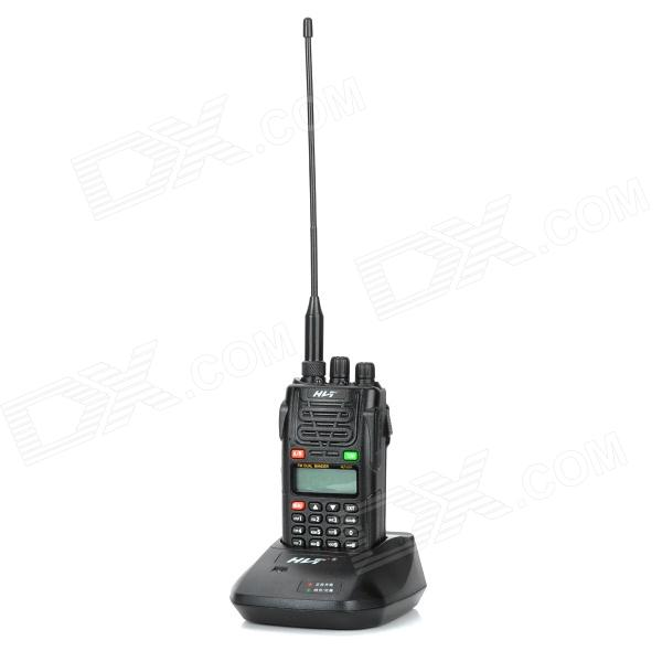 "HaoLingTong HLT-UV1 1.5"" LCD 5W 136~174MHz / 400~470MHz Dual Band Walkie Talkie w/ 1-LED Flashlight"