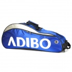 ADIBO B611-06 Polyester Tennis Badminton Racket Bag w/ Strap - Blue