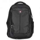 "Oiwas 4107 Protective Nylon Business Travel Backpack Bag for 14"" Laptop Notebook - Black"