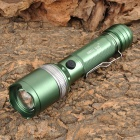 SMALL SUN ZY-T33 Cree XM-L T6 692lm 5-Mode White Zooming Flashlight - Grass Green (1 x 18650)