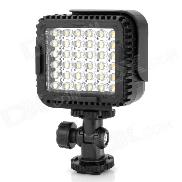 NanGuan CN-LUX360 2.2W 5600/3200K 250LM 36-LED Video Light - Black