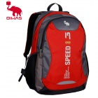 Oiwas 2861 Fashion Outdoor Travel Water Resistant Nylon Backpack Bag - Red (21L)