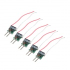 7030 LED Driver Power Supports 4 x 1W - Black + Green (5 PCS)