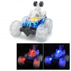 5-CH Radio Control R/C Rotation Stunt Car - Blue