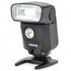 "OLOONG 1.5"" LCD 1/8000 Speedlite w/ 2-LED for Nikon D3000 / D5000 / D3100 + More - Black"