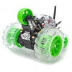 ZhengCheng 333-WL003 Rechargeable 7-CH Radio Control R/C Rotation Stunt Car - Green