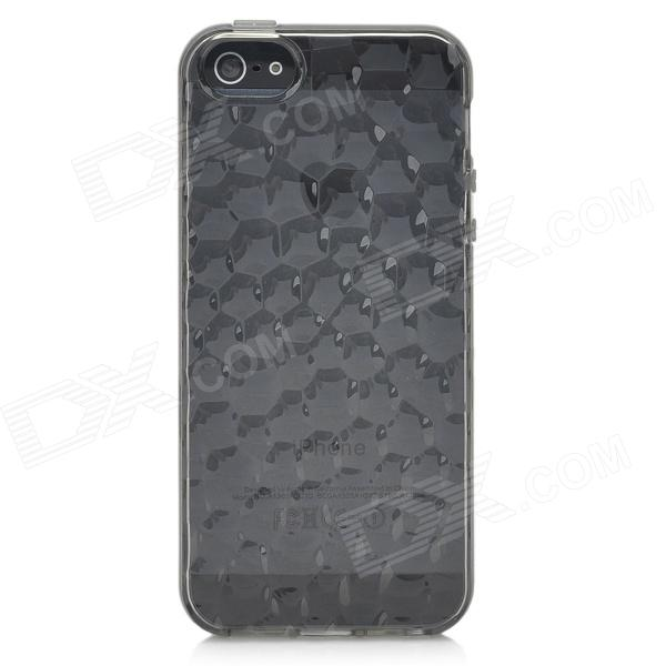 Water Cube Style Protective TPU Back Case For Iphone 5
