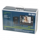 "SY901MJ21 9"" Color TFT 4-CH Monitor Visible Doorbell w/ Night Version - Black"