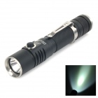UltraFire C20 Cree XM-L U3 800lm 4-Mode White Dimming Flashlight - Black (1 x 18650 2 x CR123A)