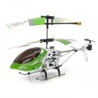 SH-6020 Rechargeable 3-CH IR Remote Control R/C Helicopter - Green + Black