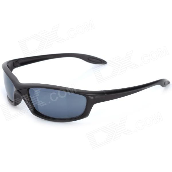 OREKA 2915 Fashion UV400 Protection PC Lens Sunglasses - Black