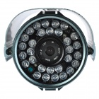 "TS-8816S-YHS Water Resistant 1/3"" CCD Surveillance Security Camera w/ 30-LED IR Night Vision"